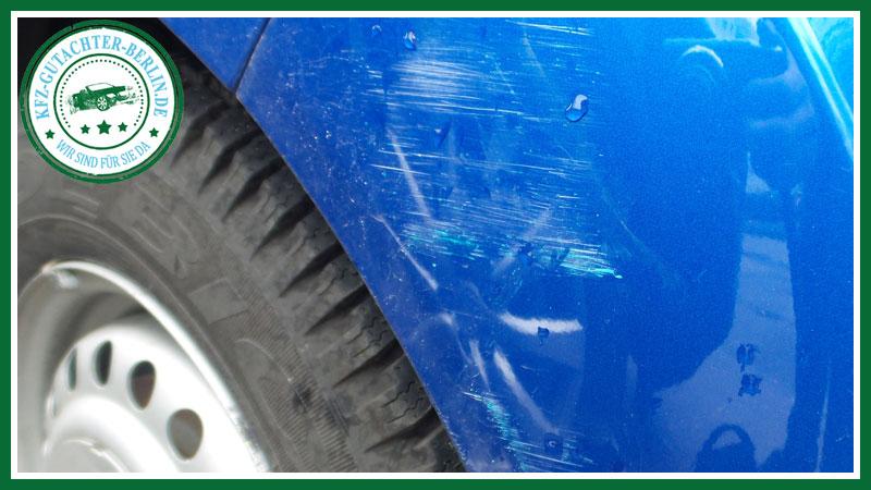 Unfall Chevrolet Spark